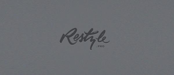 typography logo restyle 8