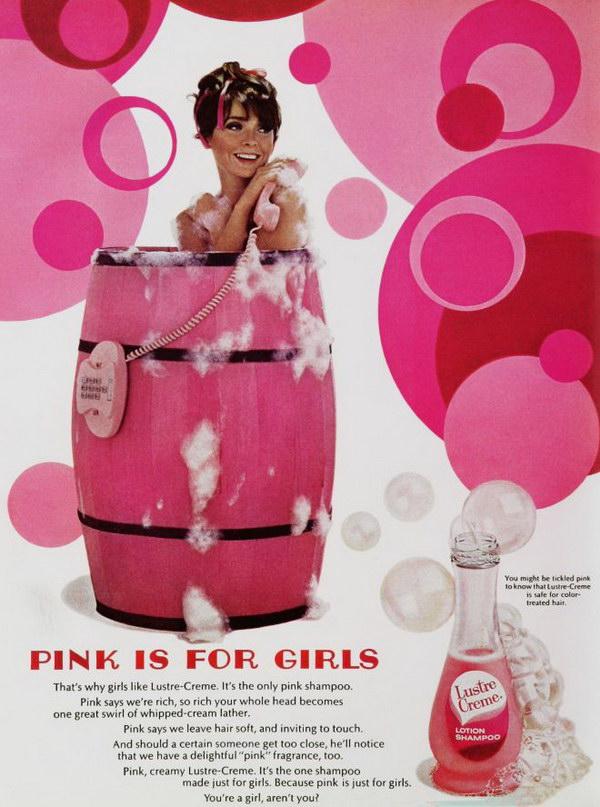 1967 vintage shampoo ad 52
