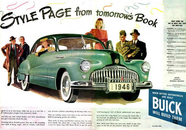 vintage car ad 1946 buick 3