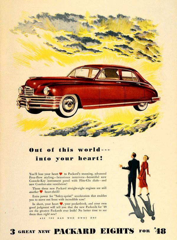 vintage car ad 1948 packard 4