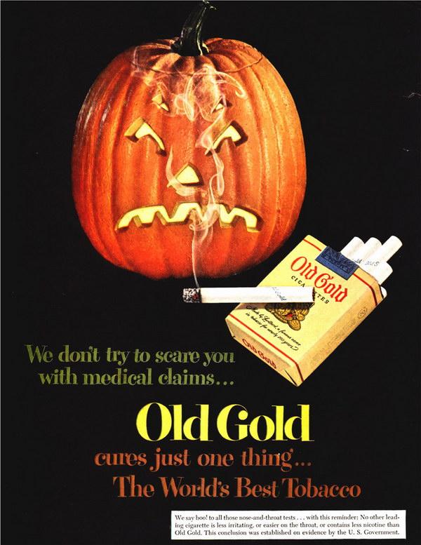 vintage cigarette ad old gold 14