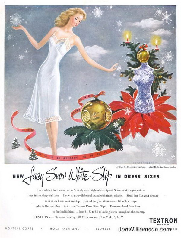 vintage christmas advertisement 47