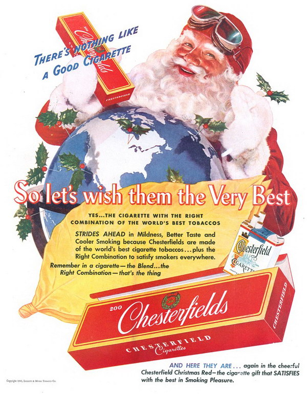 vintage christmas advertisement 51
