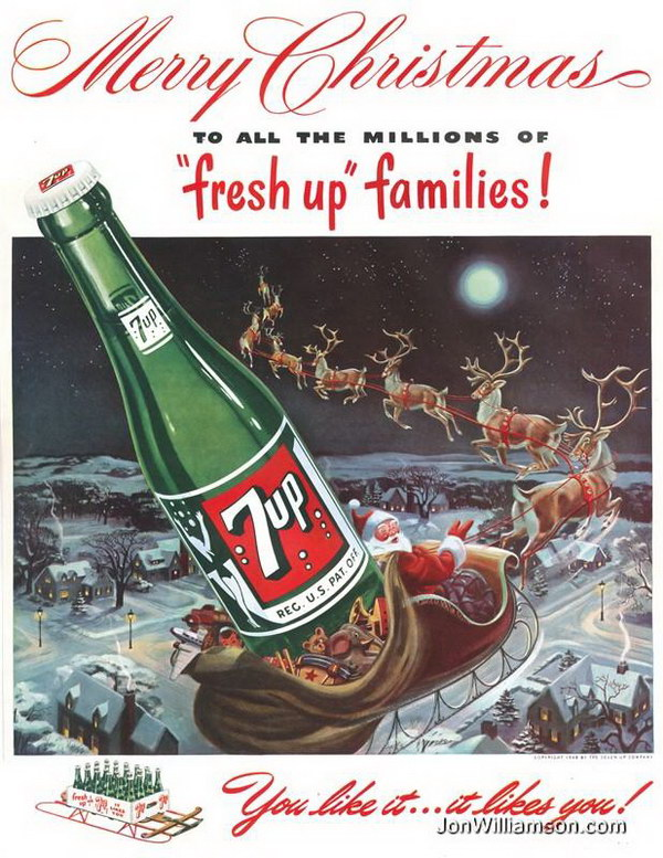 vintage christmas advertising 28