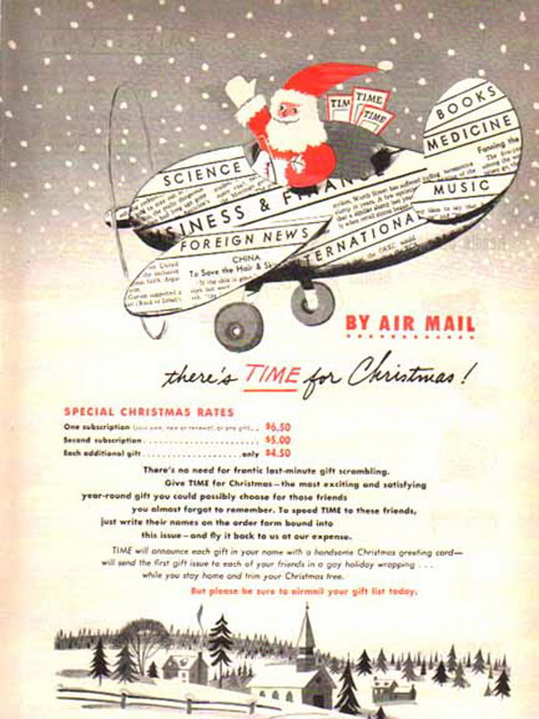 vintage christmas advertising 30