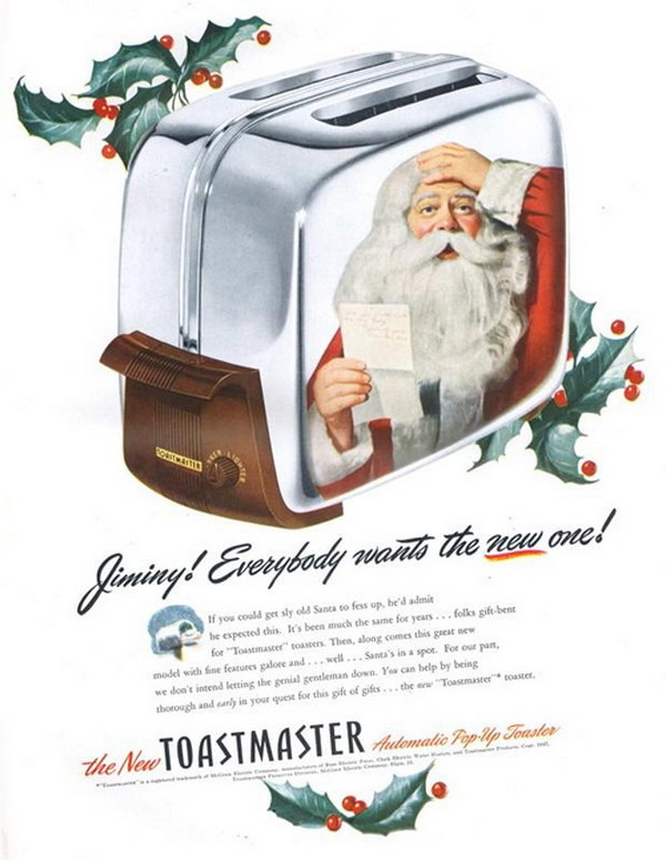 vintage christmas advertising 31