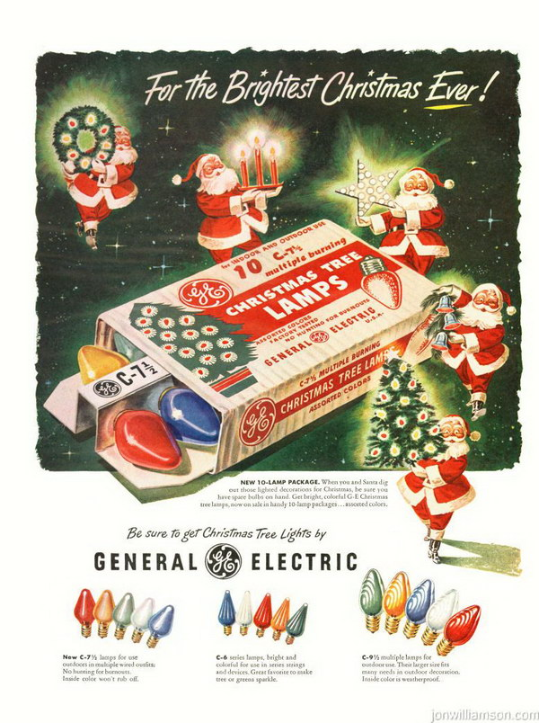 vintage christmas advertising 37