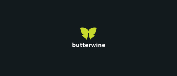 butterfly wine logo idea 49