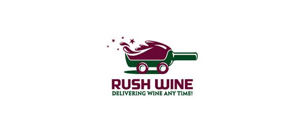 fun wine glasses logo 37