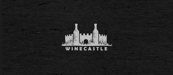 wine castle logo idea 20