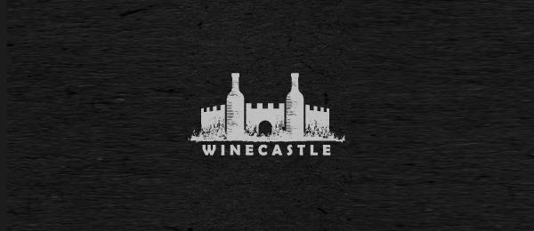 wine castle logo idea 20