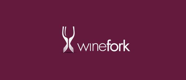 wine fork logo 30