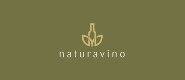 wine logo nature 21