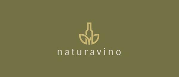 wine logo nature 21