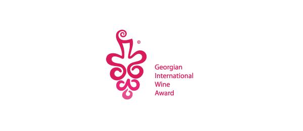 wine logo red grape 25