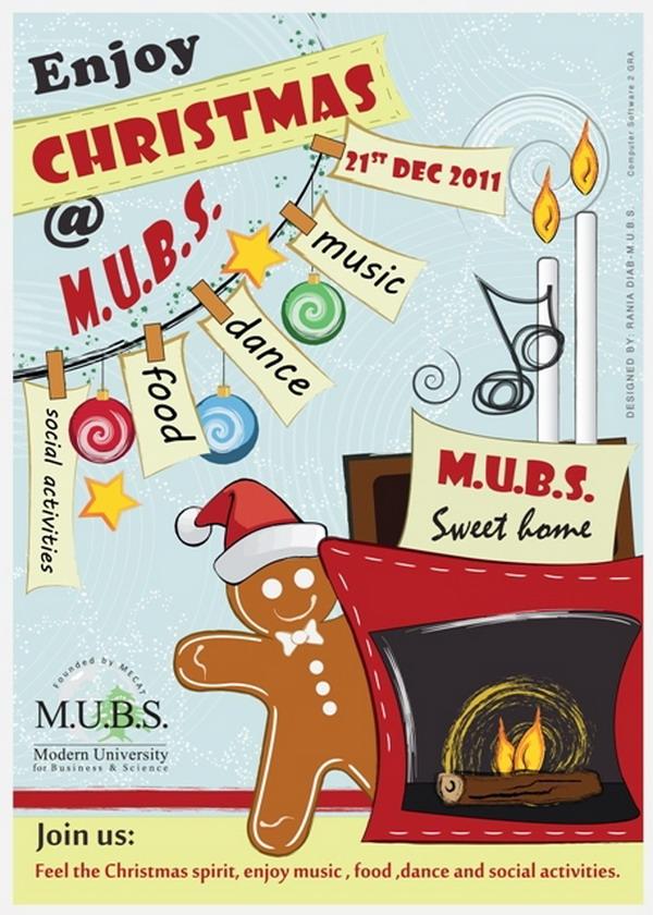 mubs christmas poster 42