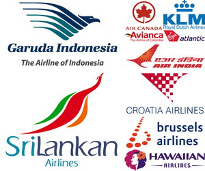 50 Famous Airline Logos Showcase Hative