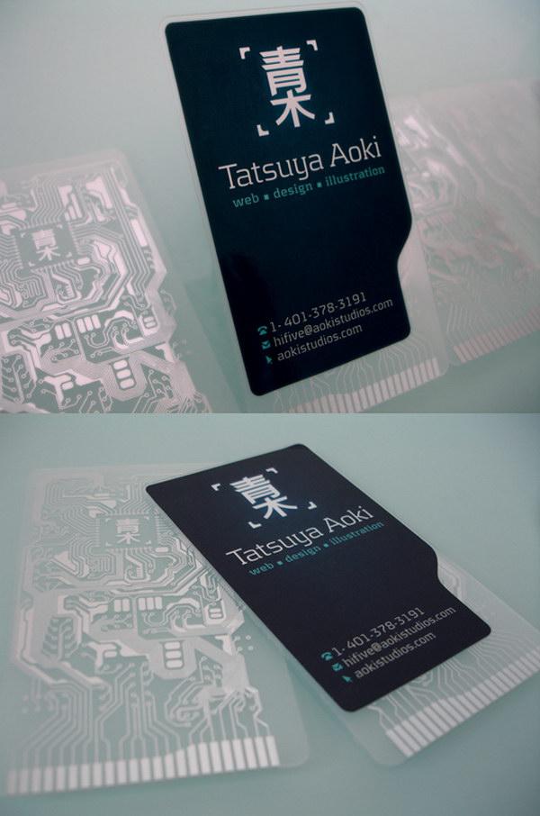 70 cool business card designs for inspiration hative. Black Bedroom Furniture Sets. Home Design Ideas
