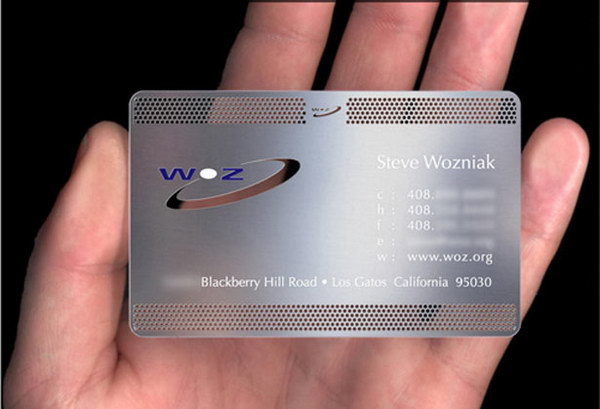 70 cool business card designs for inspiration hative metal business card reheart Choice Image
