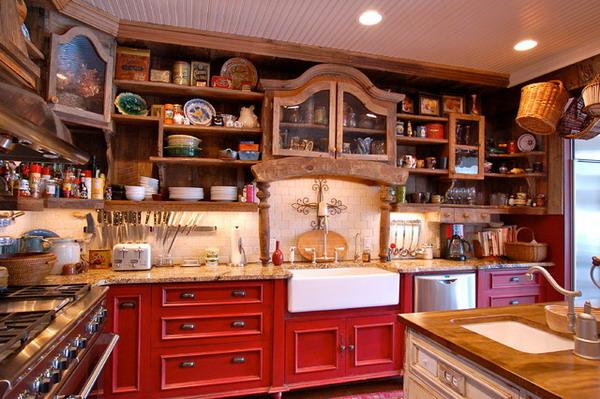 Farm House Kitchen Design 7