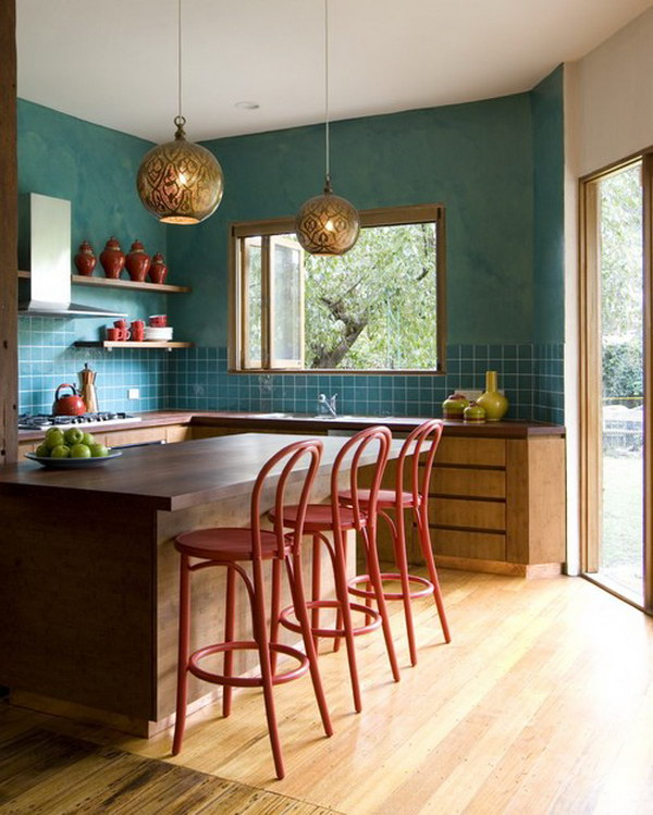 contemporary kitchen decoration 39