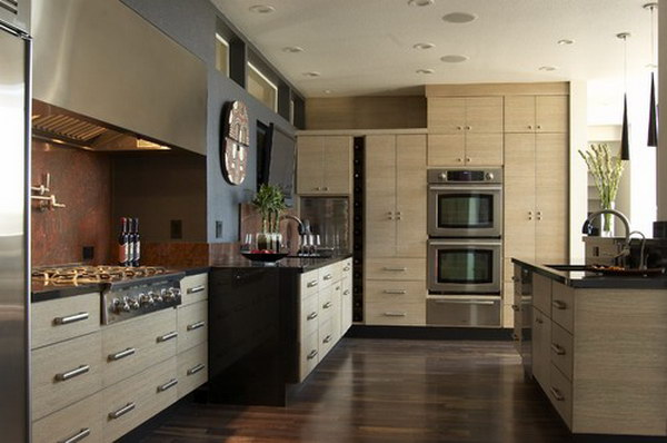contemporary kitchen idea 22