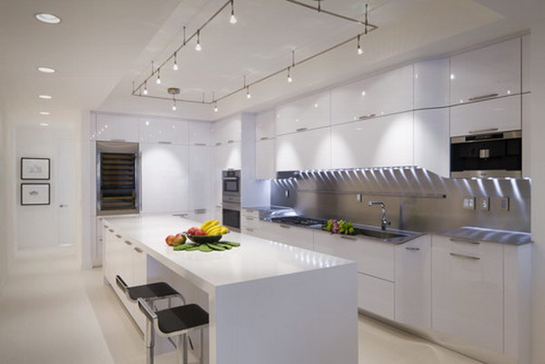 Cool Modern Kitchens image of cool modern kitchen island design Modern Kitchen 7