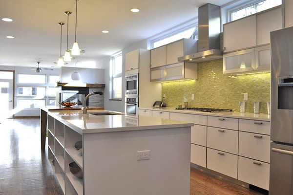 modern kitchen decor idea 36