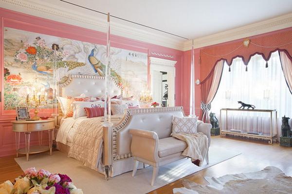 pink romantic bedroom 30