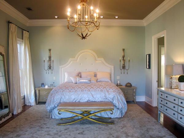 romantic bedroom decoration 34