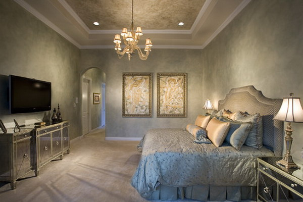 romantic bedroom decoration 35