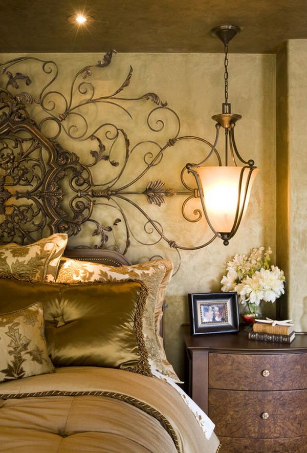 romantic bedroom decoration 37