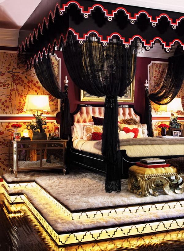 romantic bedroom decoration 42