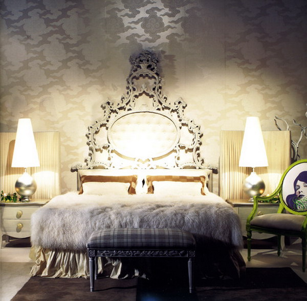 romantic style bedroom 43