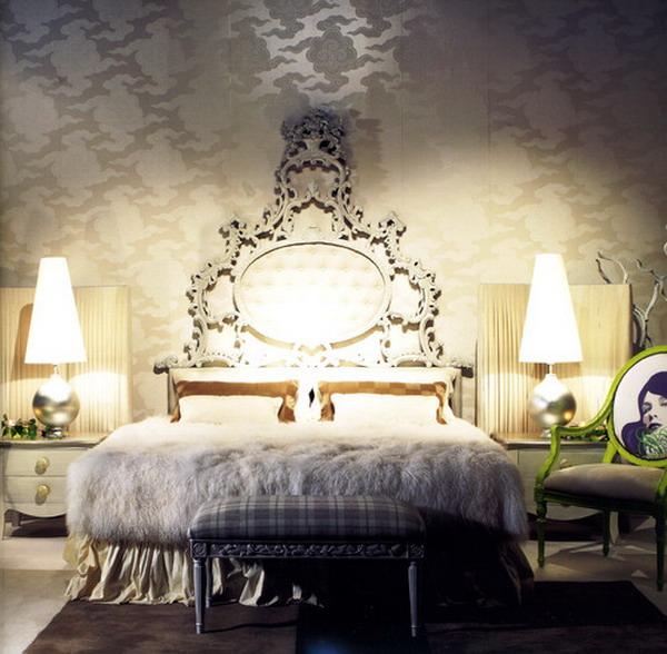romantic style bedroom 43