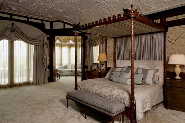 romantic style bedroom 44