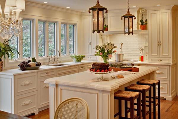 Kitchen Design Ideas Inspiration: 50+ Beautiful White Kitchen Interior Designs For