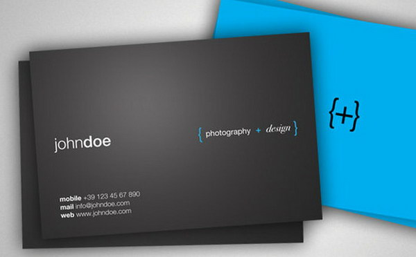 photographer business card designs 14