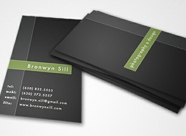 50 Awesome graphy Business Cards for Inspiration