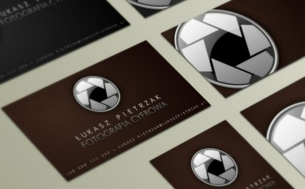 50 awesome photography business cards for inspiration hative photographer business card designs 19 reheart Gallery