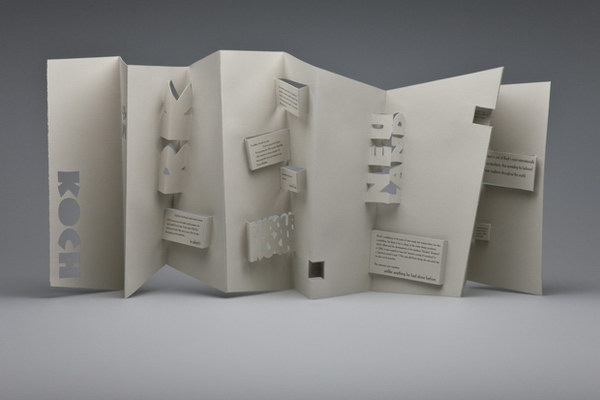 30 Cool 3D Pop Up Brochure Design Ideas Hative