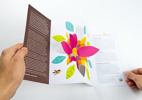 3D Pop-up Brochure Designs