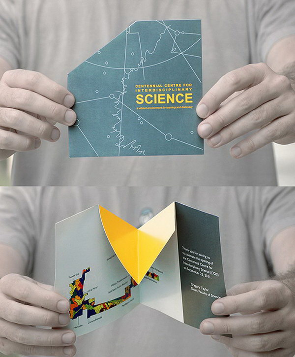 30 cool 3d pop up brochure design ideas hative for Interesting brochure designs