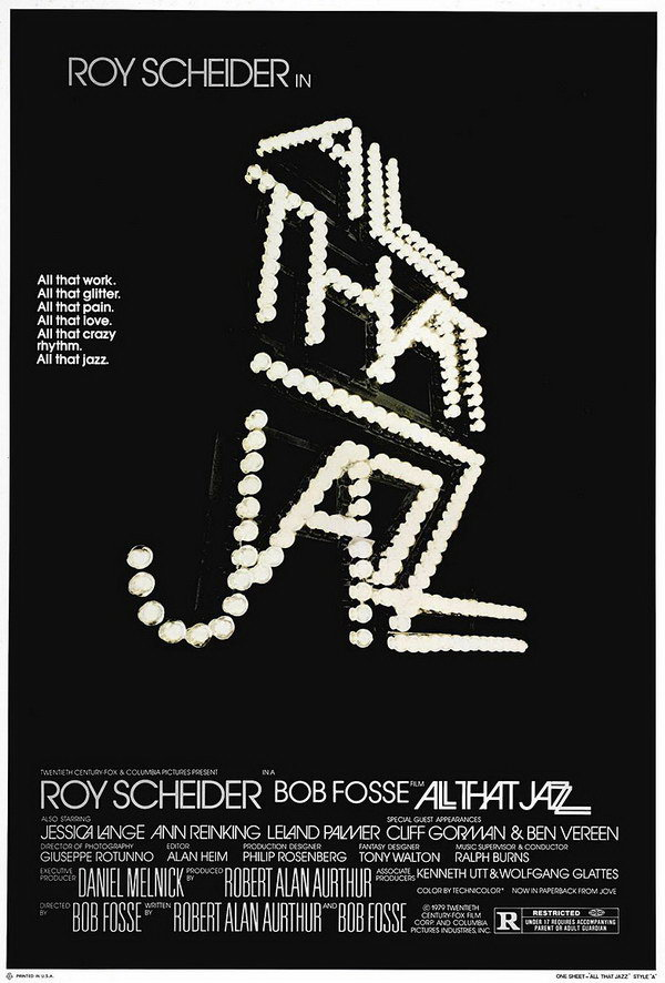 all that jazz typography poster 23
