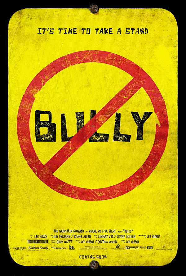bully typography movie poster 22