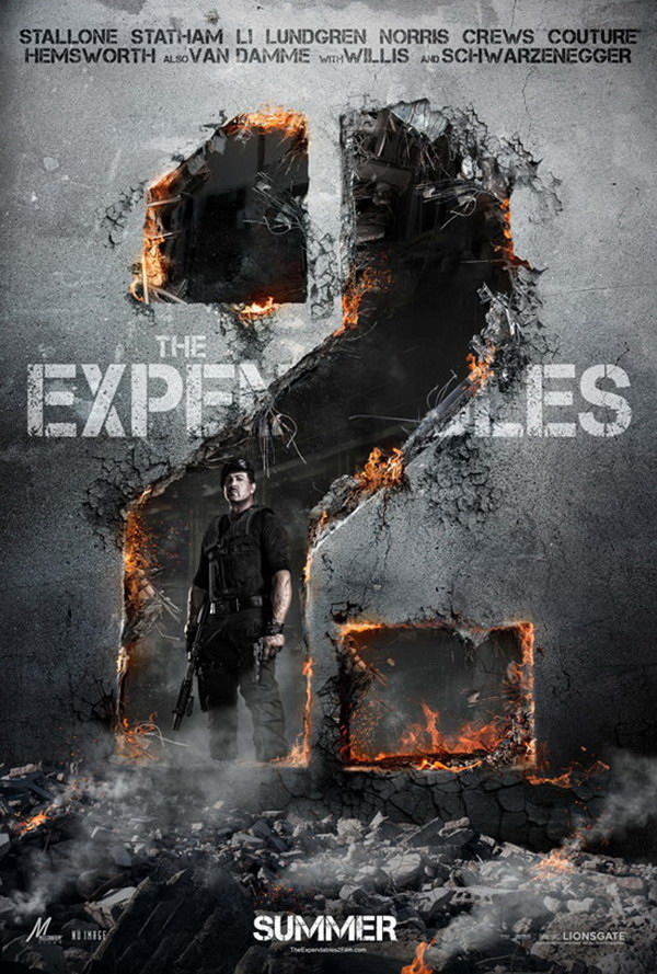 the expendables 2 movie poster 13