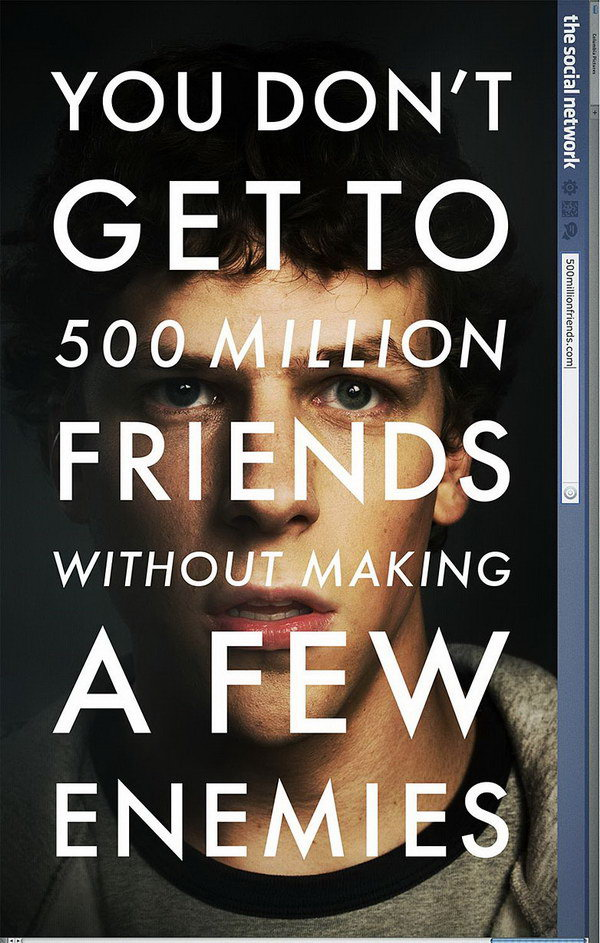 the social network movie poster 30