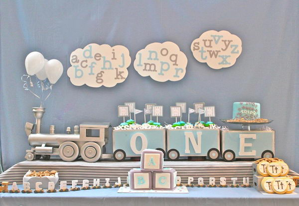alphabet train baby shower 31