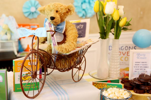 book themed baby boy shower 42