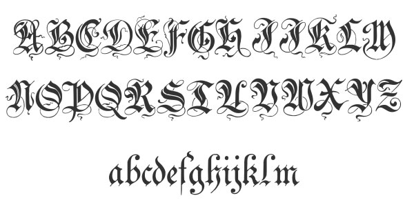 40+ Free Cool Cursive Tattoo Fonts - Hative